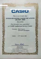 CASIO Authorized Service Center