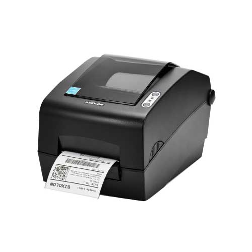 BIXOLON SLP-T400 Thermal Transfer or Direct Thermal Industrial Desktop Label & Barcode Printer