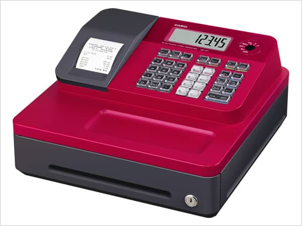 Casio SE-G1 Red Cash Register