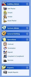 System outline functionalities overview