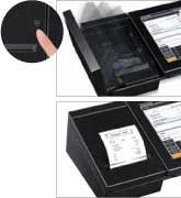 V-R200 Paper roll change